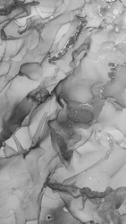 Great contrast blots. Land and Ice Ink. achromatic Blur. grayscale Strips. Blot fluid. Blots Aquarelle drawn.