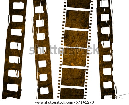 Great design element film strip for backgrounds