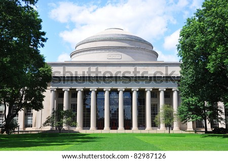 Great Dome of Massachussets Institute of Technology (MIT), Cambridge, Massachusetts, USA