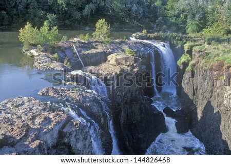 Great Falls, Passaic River in Paterson, NJ