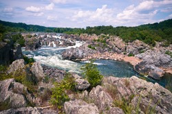 Great falls river rapids