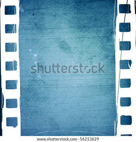 Great film strip for textures and backgrounds frame -with space for your text and image