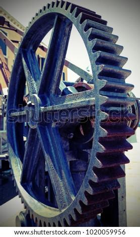 great gear wheel of a gear for...