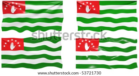 Great Image of the Flag of Abkhazia