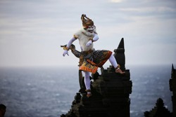 Great Kecak Dance from Bali, Indonesia
