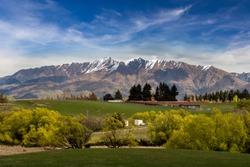 Great landscape near lake Wanaka in Newzealand
