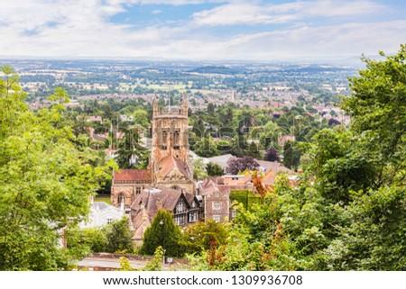 Great Malvern Priory, Great Malvern, Worcestershire, England