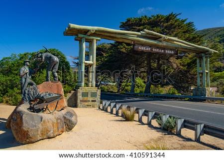 Great Ocean Road in Australia