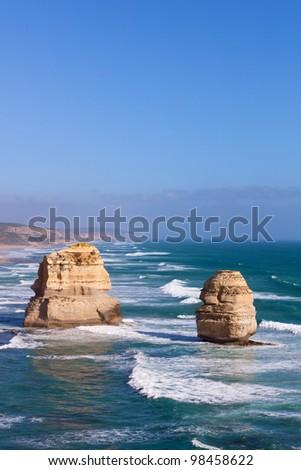 Great ocean road in Vic, Australia