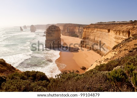 Great ocean road in Vic, Australia