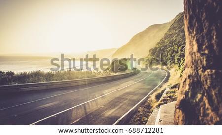 great ocean road sunshine