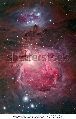 Great Orion nebular complex
