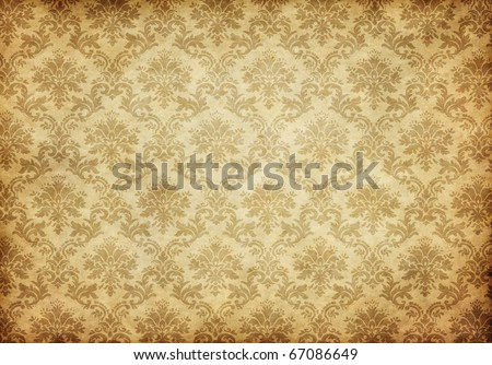 great retro background of some old dirty and grungy wallpaper