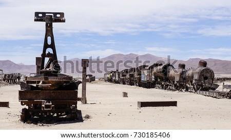 great train graveyard   uyuni ...