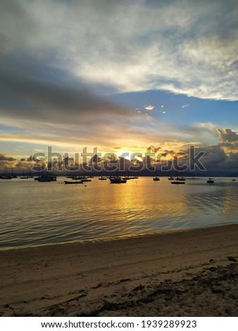 Great view - Chao Batido Florianopolis Foto stock ©