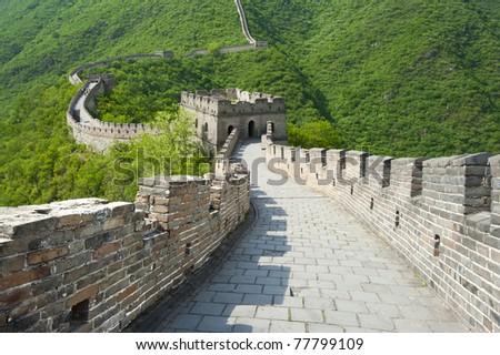 Great Wall of China at Mutianyu (Beijing)