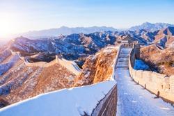 Great Wall snow scene