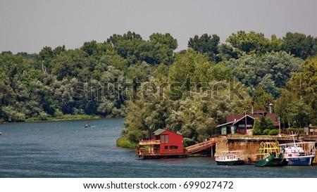 Great war island in Belgrade