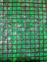 gree glass tile,  in Bandung west java indonesia