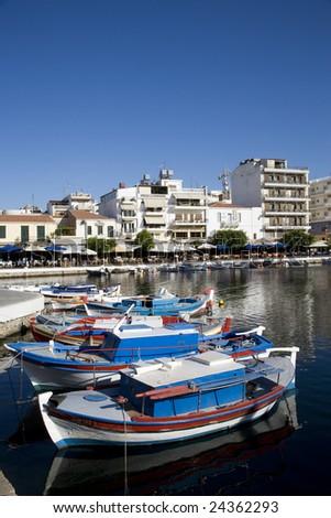 Greece. Crete. Agios Nikolaus.