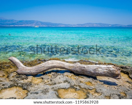 Greece, Crete: Golden Beach in Chrysi island, one of the wildness and gorgeus beach in the world. Chrissi is protected as an Area of intense natural beauty.