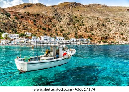 Greece, Crete, Loutro