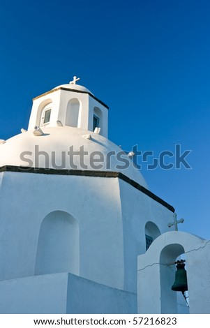 Greek orthodox church in Santorini, Greece
