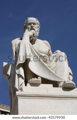 Greek philosopher Socrates.