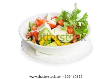 Greek salad #103460813