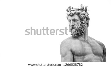 Greek sculpture, which stands in Italy