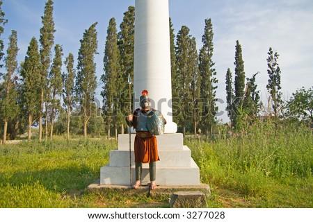 Greek Spartan Warrior