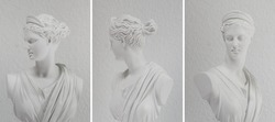 greek statue bust Artemis