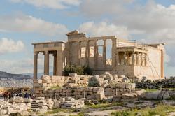 Greek Temple near Acropolis