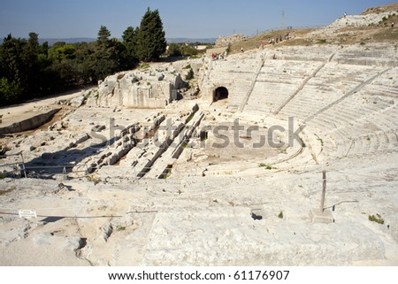 Greek Theater in Syracuse