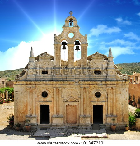 Greek travel - Arkadi monastery - Crete