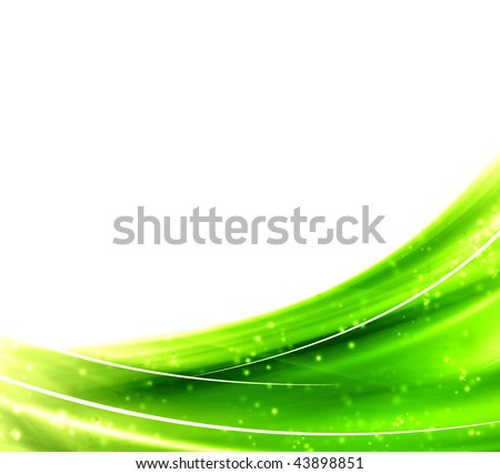 Green abstract background for your business artwork