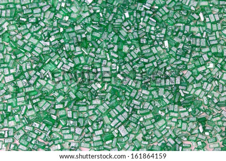 Green abstract background green cake decoration