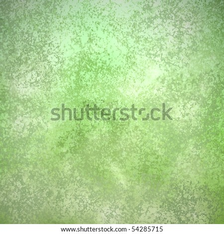green abstract background with mint green layering
