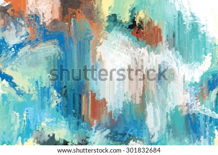 green abstract brush stroke painting for background/green abstract painting/green abstract brush stroke painting for background