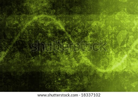 Green Abstract Corporate Data Internet Grid Background