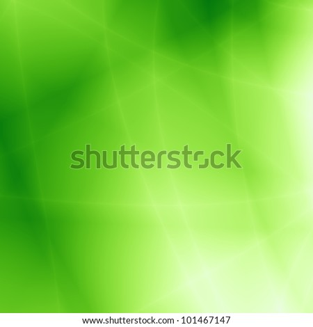 Green abstract nature background - stock photo