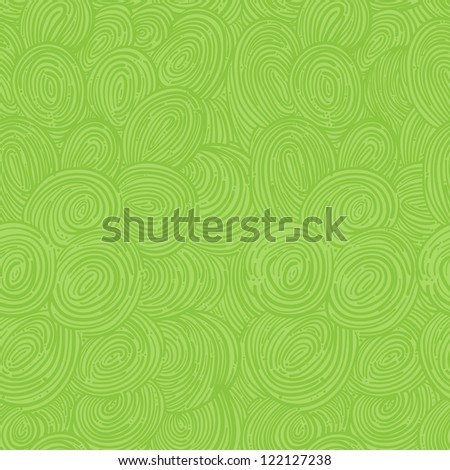 green abstract seamless pattern with swirls