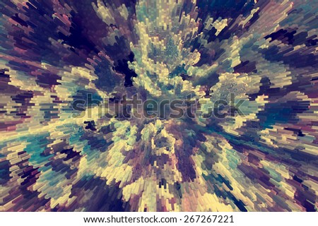 Green abstract textured background. Plant green splash perspective pattern. Splash abstract green background. Plant growing abstract perspective background.