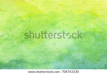 green abstract watercolor...