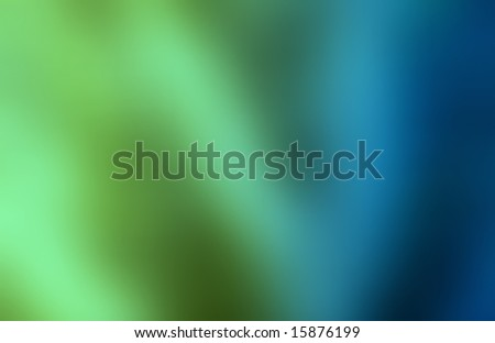 Green and blue abstract background