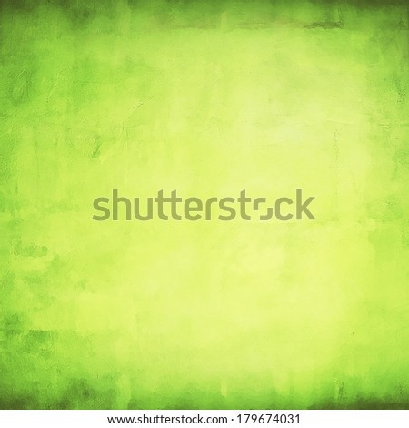 Green and fresh background with soft highlights and lines  #179674031