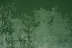 green and old texture painted plaster