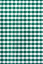 Green and white tablecloth. Provence style.