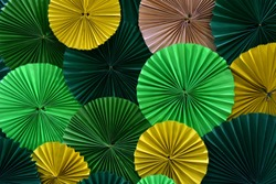 Green and yellow flowers backgrounds for ideas of love or other opportunities for free copy space. Or any other abstract background.