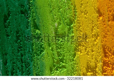 green and yellow texture